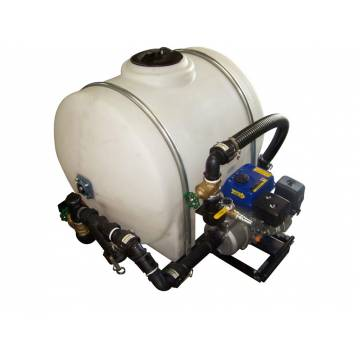 Image: Sealcoating System 125 Gallon Compact with white tank and standard pump